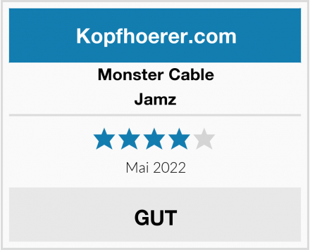 Monster Cable Jamz Test