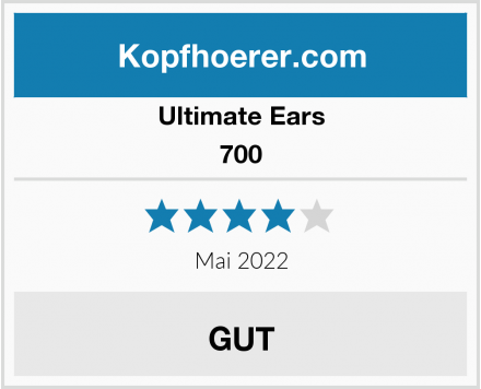 Ultimate Ears 700 Test