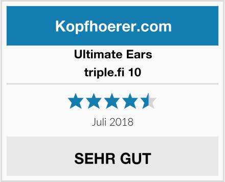 Ultimate Ears triple.fi 10 Test