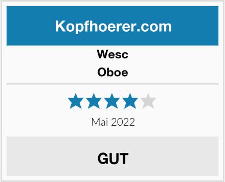 WeSC Oboe Test