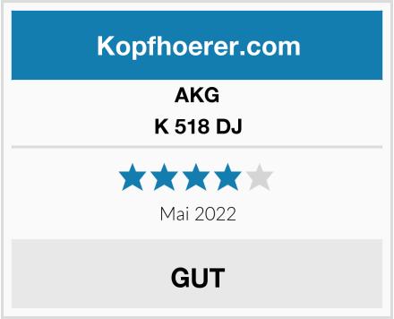 AKG K 518 DJ Test