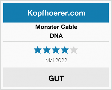 Monster Cable DNA Test