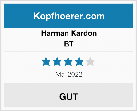 Harman Kardon BT Test
