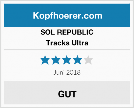 SOL REPUBLIC Tracks Ultra Test