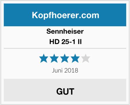 Sennheiser HD 25-1 II Test