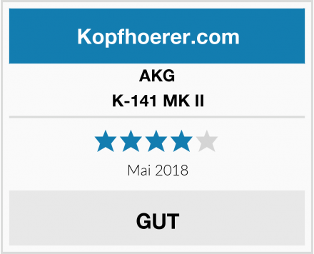 AKG K-141 MK II Test