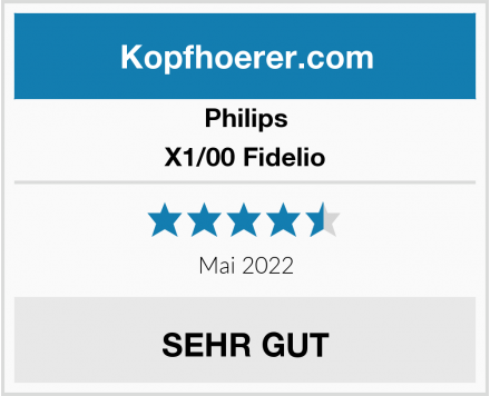Philips X1/00 Fidelio Test