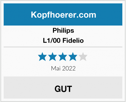 Philips L1/00 Fidelio Test