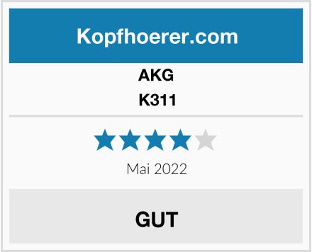 AKG K311 Test