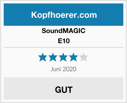 SoundMAGIC E10 Test