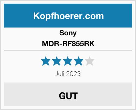 Sony MDR-RF855RK Test