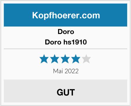 Doro Doro hs1910 Test