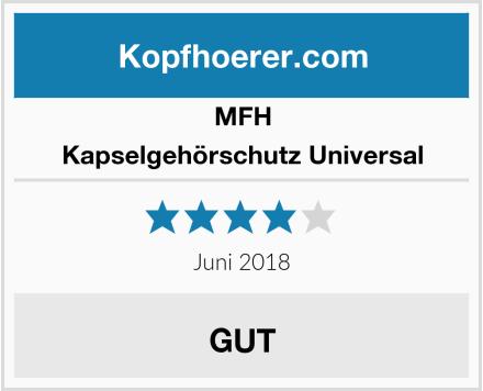 MFH Kapselgehörschutz Universal Test