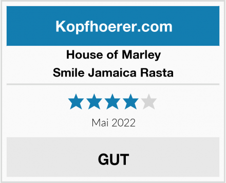 House of Marley Smile Jamaica Rasta Test