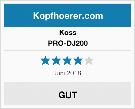 Koss PRO-DJ200 Test