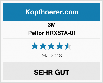 3M Peltor HRXS7A-01 Test