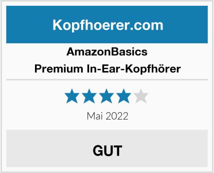 AmazonBasics Premium In-Ear-Kopfhörer Test