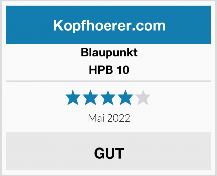 Blaupunkt HPB 10 Test