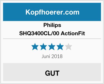 Philips SHQ3400CL/00 ActionFit Test