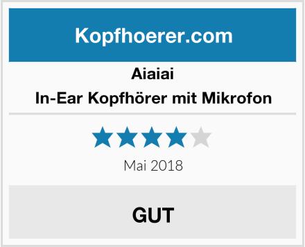 AIAIAI In-Ear Kopfhörer mit Mikrofon Test