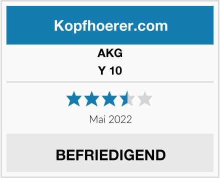 AKG Y 10 Test