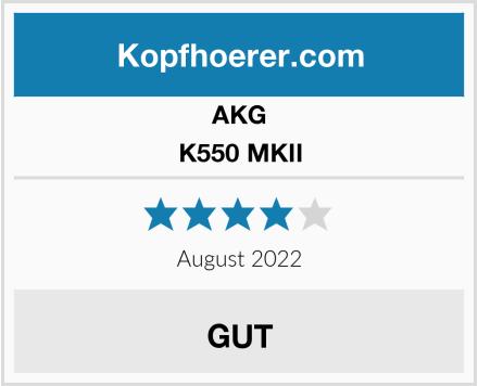 AKG K550 MKII Test