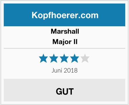 Marshall Major II Test