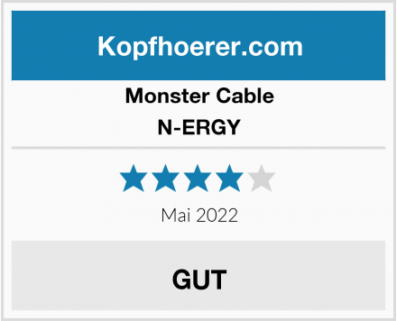 Monster Cable N-ERGY Test