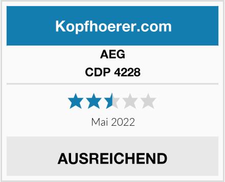 AEG CDP 4228 Test