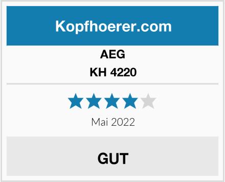 AEG KH 4220 Test