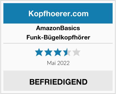 AmazonBasics Funk-Bügelkopfhörer Test
