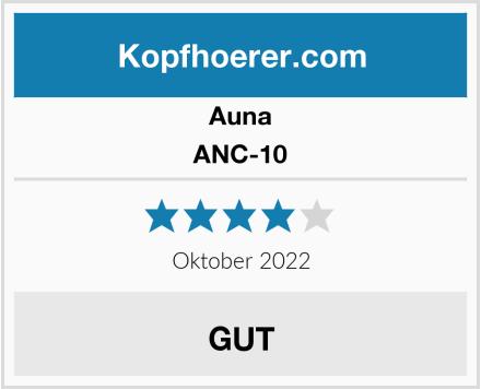 Auna ANC-10 Test
