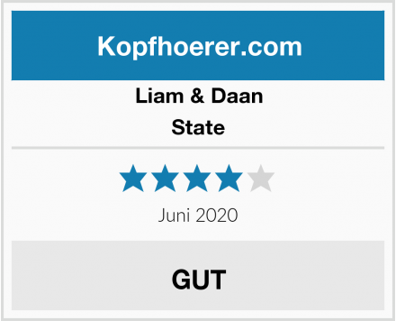 Liam & Daan State Test