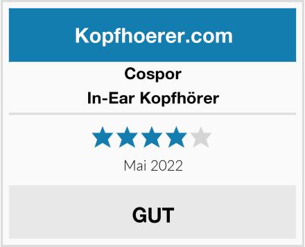 Cospor In-Ear Kopfhörer Test