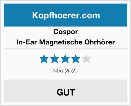 Cospor In-Ear Magnetische Ohrhörer Test