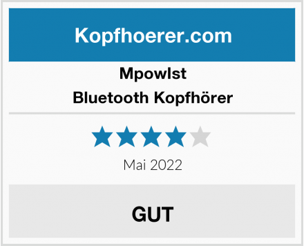 MpowIst Bluetooth Kopfhörer Test