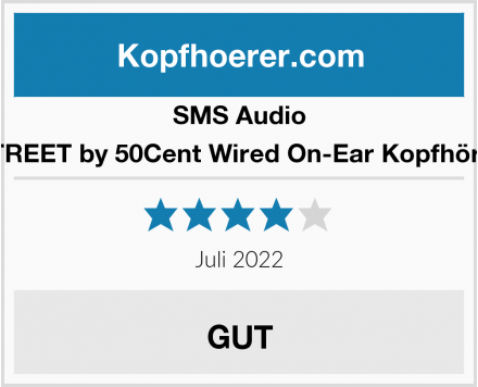 SMS Audio STREET by 50Cent Wired On-Ear Kopfhörer Test