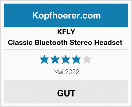 KFLY Classic Bluetooth Stereo Headset  Test