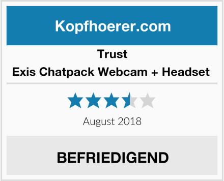 Trust Exis Chatpack Webcam + Headset  Test