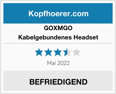 GOXMGO Kabelgebundenes Headset Test