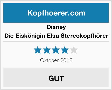 Disney Die Eiskönigin Elsa Stereokopfhörer Test