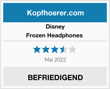 Disney  Frozen Headphones  Test