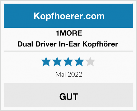 1MORE Dual Driver In-Ear Kopfhörer  Test