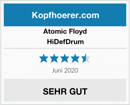 Atomic Floyd HiDefDrum Test