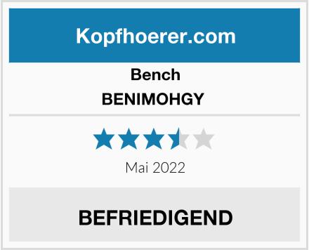 Bench BENIMOHGY  Test