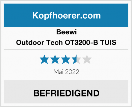 Beewi Outdoor Tech OT3200-B TUIS Test