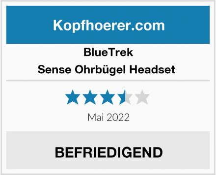 BlueTrek Sense Ohrbügel Headset  Test