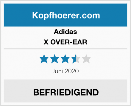 Adidas X OVER-EAR Test
