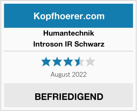 Humantechnik Introson IR Schwarz Test