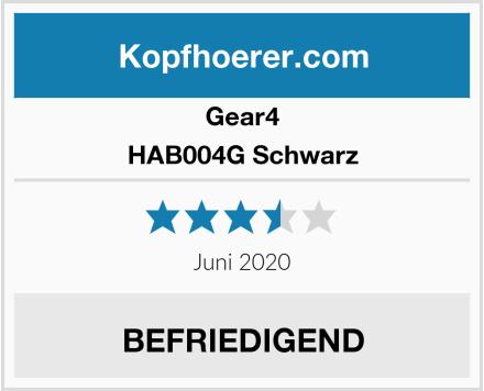 Gear4 HAB004G Schwarz Test